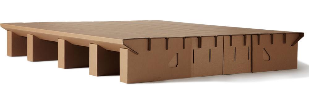 Paperpedic Bed - Cama de cartón